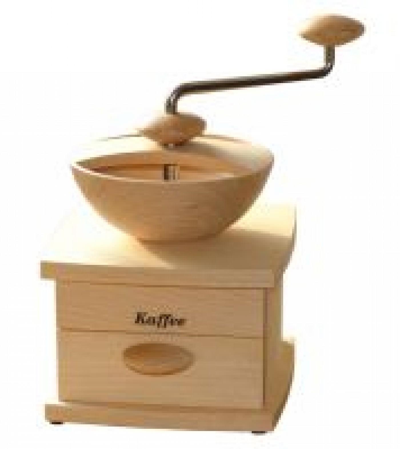 handgetreidem hle kornkraft mulino kaffee handm hle mit schublade kaffeebohnen selber frisch. Black Bedroom Furniture Sets. Home Design Ideas