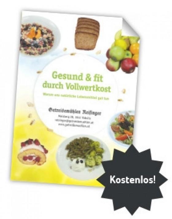 Broschüre: In 25 Minuten zum Fachmann für eine gesunde Ernährung