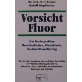 Buch Vorsicht Fluor (Bruker, Ziegelbecker)