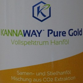 Kannaway Pure Gold Vollspektrum Hanföl, 10 ml